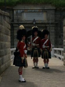 Changing of the guard, The Citadel.