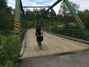 Bicycling near Baddeck